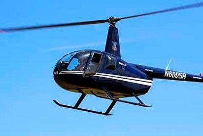 El momento en el que un helicóptero con turistas a bordo se estrella en Argentina (Vídeo)