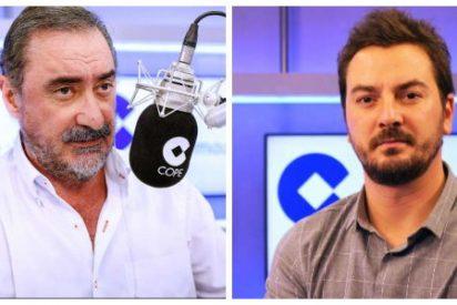 La angustiosa petición de Carlos Herrera en directo a un colaborador y amigo desaparecido