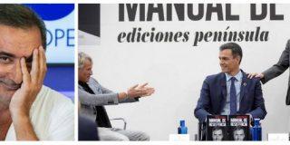 """Carlos Herrera se ríe de TVE por la cobertura del libro de Sánchez: """"Parecía la llegada del hombre a la luna"""""""