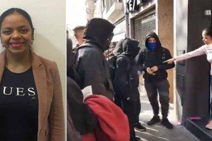 La inmigrante embarazada que aborta otra gran parida del cobarde piquete de los CDR