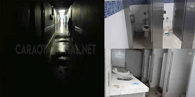 El vídeo que muestra la miseria en uno de los principales hospitales de Caracas
