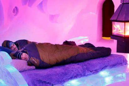 El único hotel de hielo en América del Norte está en Québec