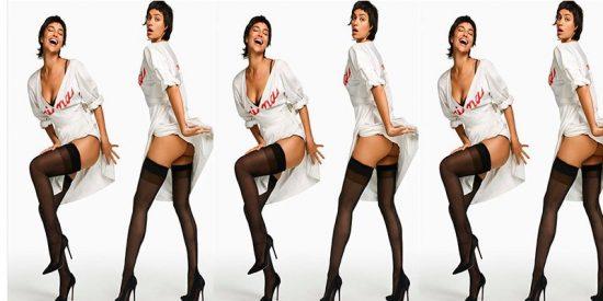 Irina Shayk se harta de las 'culonas' clásicas y decide presentar su trasero a concurso