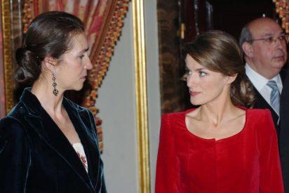Doña Letizia ataca: demuestra el pánico que el personal de Zarzuela tiene a la Infanta Elena
