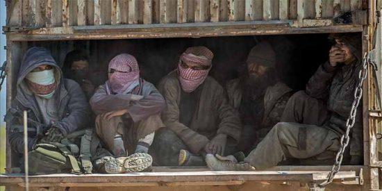 El Estado Islámico desaparece del mapa, pero sus terroristas siguen activos en la sombra