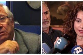 """El flojo de Fernando Jáuregui babosea con la fracasada María Jesús Montero: """"Quiero felicitarla, brilló usted con luz propia"""""""