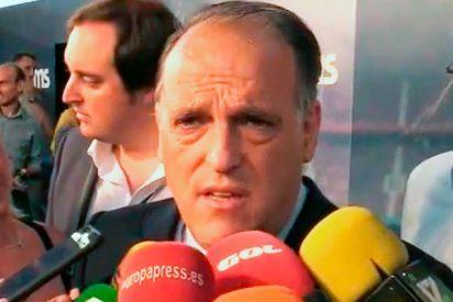 """El zasca de Tebas a Piqué: """"Es un gran central, pero un mal jurista: en España no hay presos políticos"""""""
