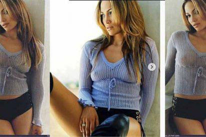 El jersey transparente de Jennifer López, que lleva 20 años escondido en un armario secreto