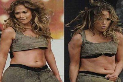 """La tableta de Jennifer López antes de hacer dieta: """"Es chocolate del blando"""""""