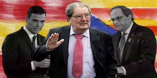 El 'relator' que habían apañado Torra y Sánchez era John Hume, negociador del Ulster