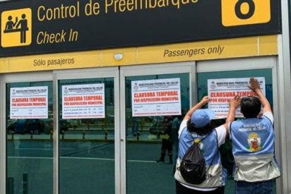 Clausuran Aeropuerto Internacional de Lima por un caso de homofobia