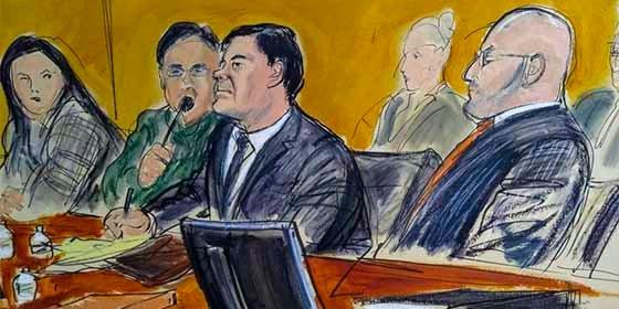 """La desesperación se hizo presente en la defensa de """"El Chapo"""" en el día final del juicio"""