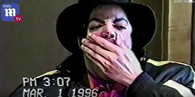 El vídeo inédito con las extrañas reacciones de Michael Jackson en un interrogatorio por abuso de menores