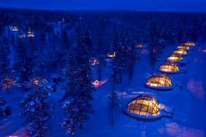 Hoteles increíbles: Kakslauttanen Arctic Resort, Laponia, Finlandia