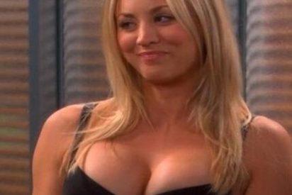"""Kaley Cuoco fracasa al explotar su lado sexy: """"Moment over"""""""