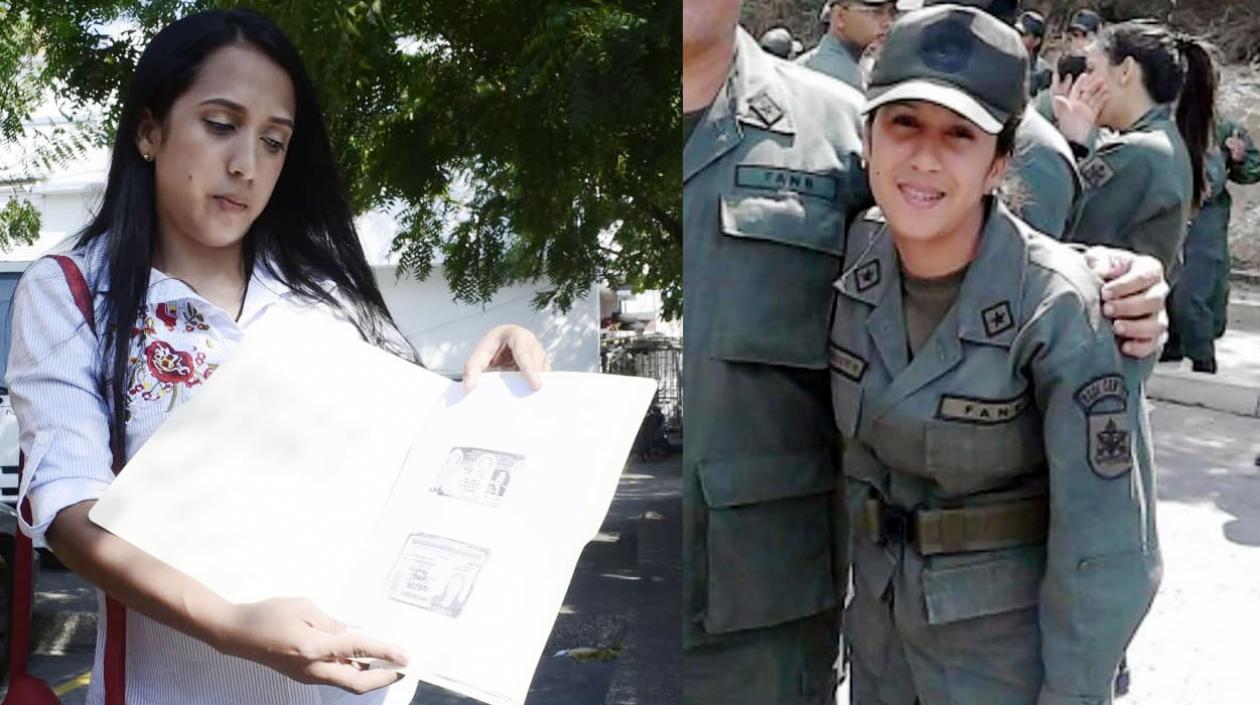 Odisea de una militar venezolana: Deserta con su hija de dos años en brazos