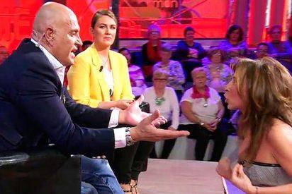 La bronca entre María Patiño y Kiko Matamoros que ha hecho 'temblar' el despacho de Vasile