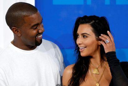 Kim Kardashian sorprendida por Kenny G. en un romántico San Valentín