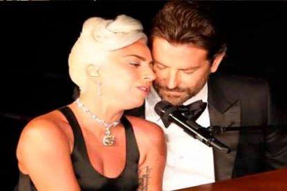 El cachondeo en redes por el show romántico de Lady Gaga con Bradley Cooper en los Oscar