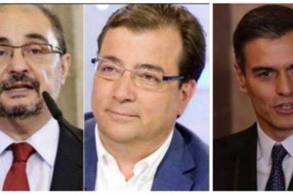 Vara, Page, Lambán, ¿queréis la supervivencia del PSOE? ¡Exigidle a Sánchez que convoque elecciones ya!