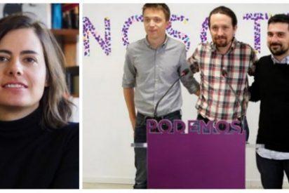 Emilia Landaluce desmonta en una soberbia tribuna el feminismo de cartón piedra de Podemos