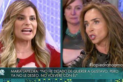 """María Patiño se abalanza sobre María Lapiedra: """"Me da bastante asco lo que haces"""""""