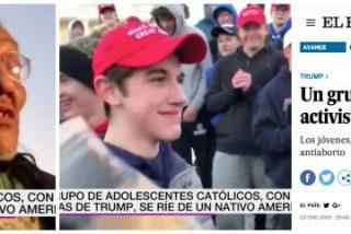 Estos son los que nos van a librar de las 'fake news': laSexta y El País se tragan un bulo viral que atacaba a jóvenes pro-Trump