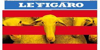 El diario francés 'Le Figaro' sacude la del pulpo a los independentistas catalanes