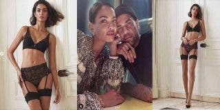 Joana Sanz, mujer de Dani Alves, calienta Internet con su posado de alto voltaje en lencería fina