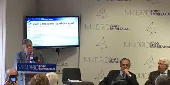 """Líderes venezolanos en España a Pedro Sánchez: """"Es necesario establecer sanciones"""""""