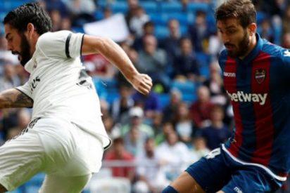 El horario y dónde ver el Levante-Real Madrid
