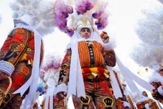 Los Gilles, protagonistas del carnaval más curioso de Europa