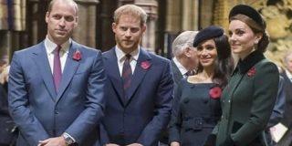 Los Príncipes Guillermo y Harry se 'divorcian' porque sus mujeres se detestan profundamente