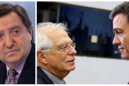"""Losantos estalla con la pasividad de Sánchez y Borrell hacia Venezuela: """"Nadie ha hecho tanto el payaso como ellos"""""""
