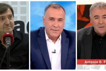 """Losantos contra las """"ratas periodistiprogres y el millonario telemaduro"""" por aullar contra la unidad de España"""