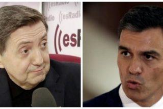 Losantos a Sánchez tras pactar con Bildu: