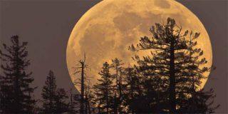 Superluna: esta es la impresionante 'Luna de Nieve' que se verá este martes