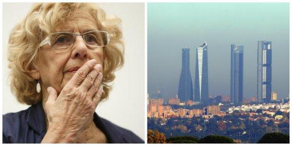 Carmena fracasa en sus medidas antipolución y Madrid supera el límite de contaminación para todo 2019