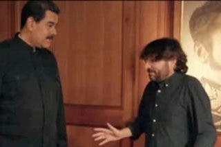 La caradura del dictador Maduro y los mimos al tirano del masajista Jordi Évole