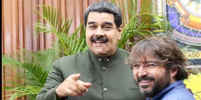"Carmelo Jordá: ""¿Entrevistar al tirano Nicolás Maduro?"""