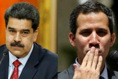 """Un aislado Maduro intenta imitar a Juan Guaidó y copia su """"vamos bien"""""""