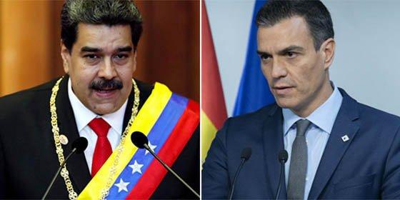 A Pedro Sánchez no le quedaba otra y reconoce por fin a Guaidó como presidente de Venezuela