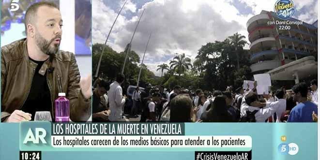 Tartamudo, tosco y mentiroso: la falsedad del discurso de Antonio Maestre para defender a Maduro
