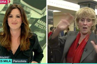 Mercedes Milá trolea a Mamen Mendizábal hablándole en laSexta de dos programas de otras teles