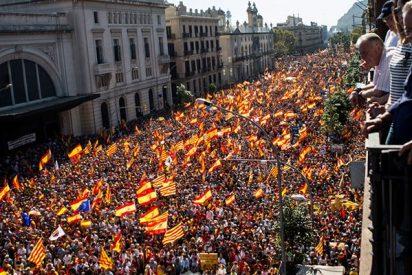 En un minuto: Así fue la masiva manifestación por la unidad de España
