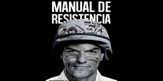 Los 'guerrilleros de la resistencia' distribuyen en Internet el libro de Sánchez íntegro y gratis para boicotear su venta