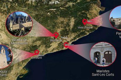 El mapa de la independentista iglesia catalana donde durante más de 30 años se abusó sexualmente de niños