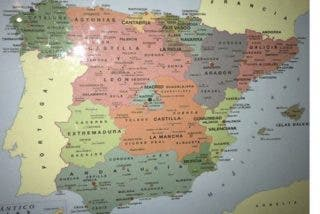 La verdadera historia detrás del mapa de España más extraño