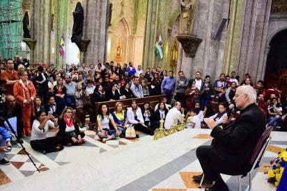 Monseñor Moronta celebró en Ecuador el 'Encuentro por la Reconciliación y la Paz'