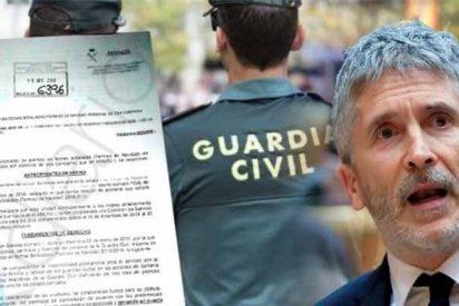 Una asociación de la Guardia Civil se rebela contra el 'timorato' Marlaska por arrugarse con los CDR y atizar a la Benemérita